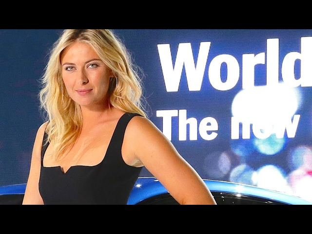 Maria Sharapova Hot World Premiere Porsche Macan HD Launch Sexy Commercial Carjam TV