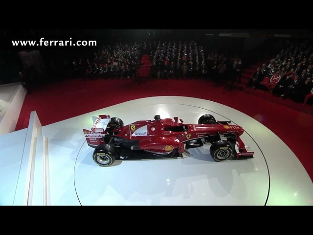 2013 <em>Ferrari</em> F138 New F1 Car HD First Reveal Commercial Carjam TV HD