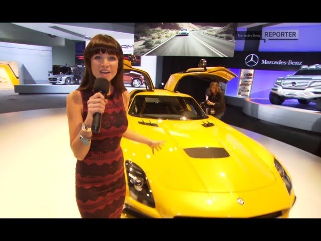 2013 <em>Mercedes</em> AMG SLS Black Series Commercial LA Auto Show Carjam TV HD Car TV Show