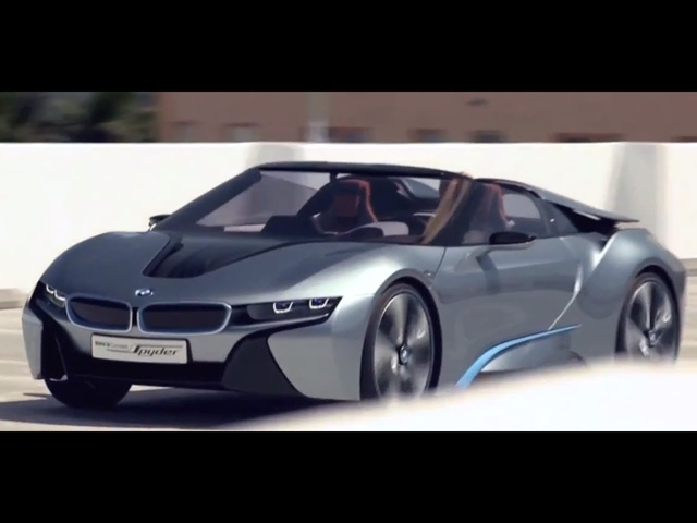 New <em>BMW</em> i8 Spyder 2014 In Detail Driving Commercial Hybrid Electric Car - Carjam TV HD 2014