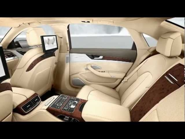 New <em>Audi</em> A8 L W12 quattro 2011 Interior Detail TV Ad <em>Audi</em> A8L Commercial CARJAM TV