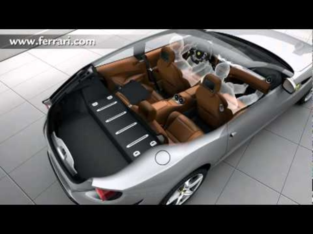 New <em>Ferrari</em> FF Interior Detail Versatility - New Carjam Car Radio Show 2012