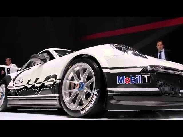 2013 Porsche 911 GT3 991 New Design Commercial 911 GT3 Carjam TV HD Car TV Show