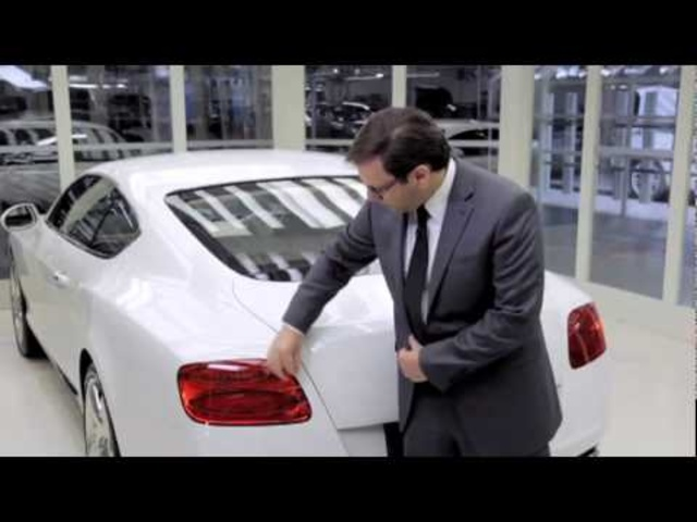 Carjam: New Bentley Continental GT 2011 Design Insights Commercial Carjam TV HD 2013