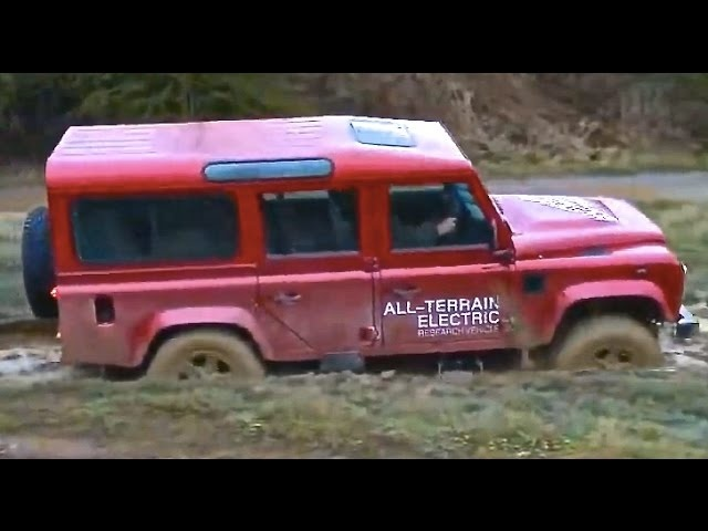 Land <em>Rover</em> Defender Electric Tested 4x4 Hybrid SUV Commercial Carjam TV HD Car TV Show 2015