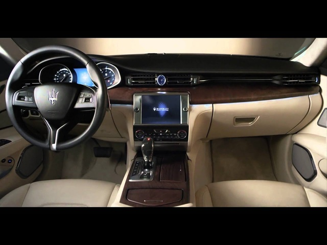 2013 Maserati Quattroporte In Detail First Full Commercial Interior Carjam TV HD Car TV Show