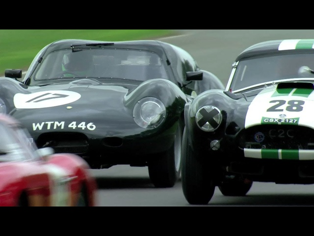 The Goodwood Revival RAC TT 2013, in a Lister <em>Jaguar</em> Coupe. -- /CHRIS HARRIS ON CARS