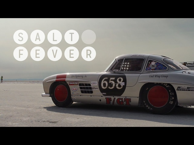 <em>Mercedes</em> 300SL Gullwing at Bonneville Gives Us Salt Fever