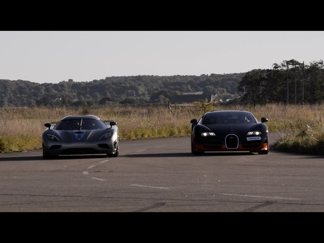 1200 HP <em>Bugatti</em> Veyron Vitesse vs Koenigsegg Agera R x 4 races