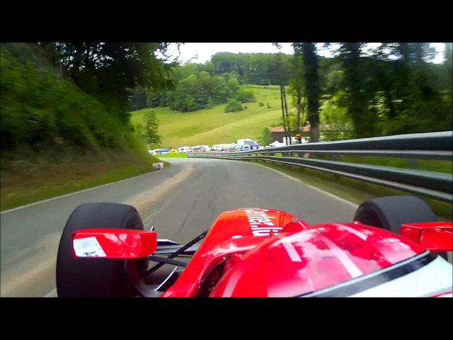 Onboard with David Hauser (Dallara GP2) - Course de côte de St. Ursanne - Les Rangiers 2013