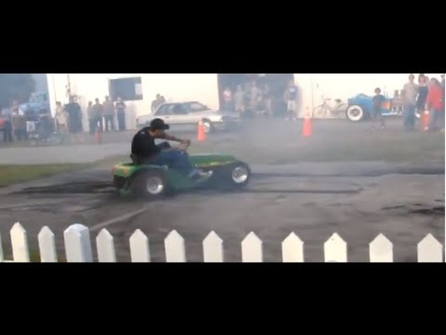 Turbo hayabusa John deer tractor epic burnouts.