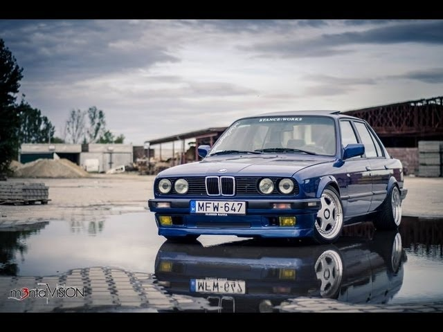 The Dropped E30 love