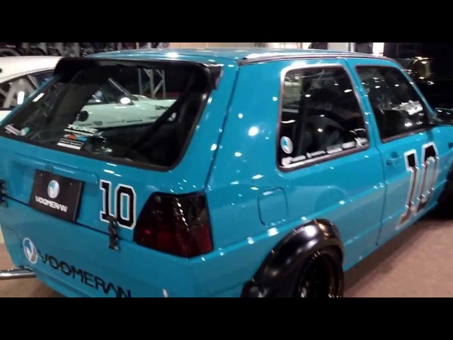 "Euro Magic Golf 2 ""NEO"" at Osaka Auto Messe"