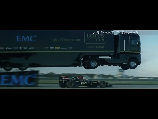 EMC & Lotus F1 Team Set Epic Guinness World-Record