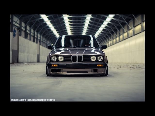 MikeCrawatPhotography: <em>BMW</em> E30 - Air Lift Performance - BBS Wheels
