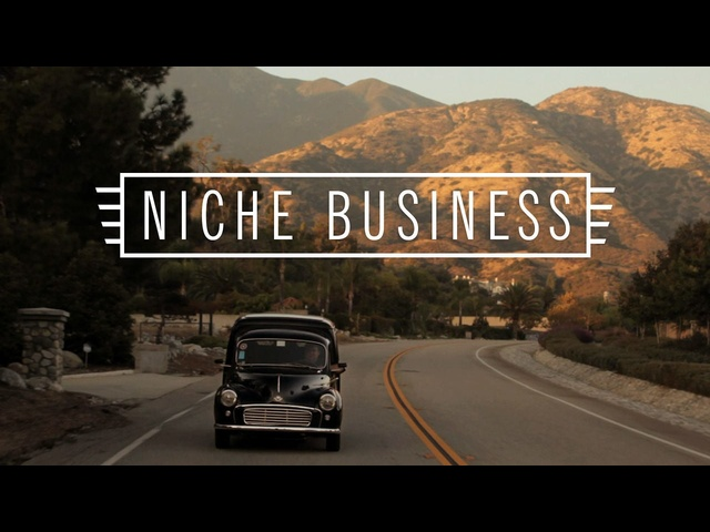 Niche Business: Morris Minor Panel Van