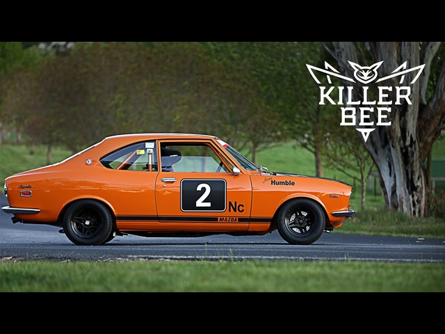 This Howling <em>Mazda</em> RX-2 Is A Killer Bee