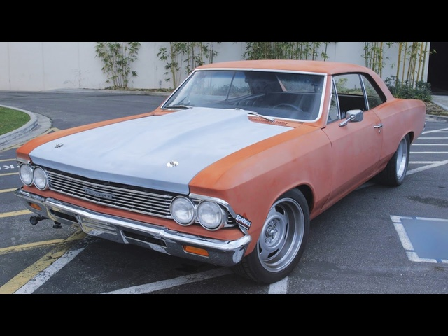 1966 LS Powered Chevelle Mini-Tub Install & Burnouts! - Hot Rod Garage Ep. 35