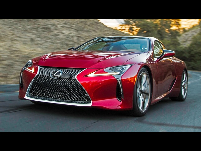 Inside the All-New Lexus LC 500! - Motor Trend Presents