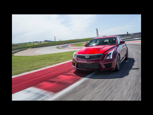 2016 CADILLAC ATS-V | Around the Track
