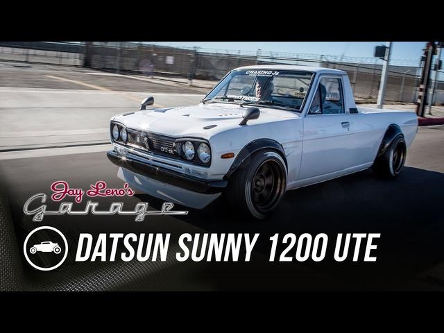 1974 Datsun Sunny 1200 UTE -Jay Leno's Garage