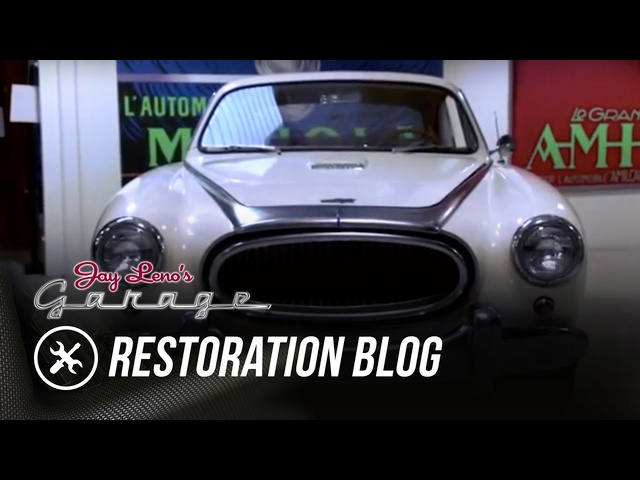 Restoration Blog: December 2015 -Jay Leno's Garage