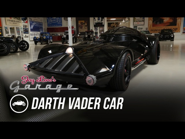 Hot Wheels Darth Vader Car - Jay Leno's Garage