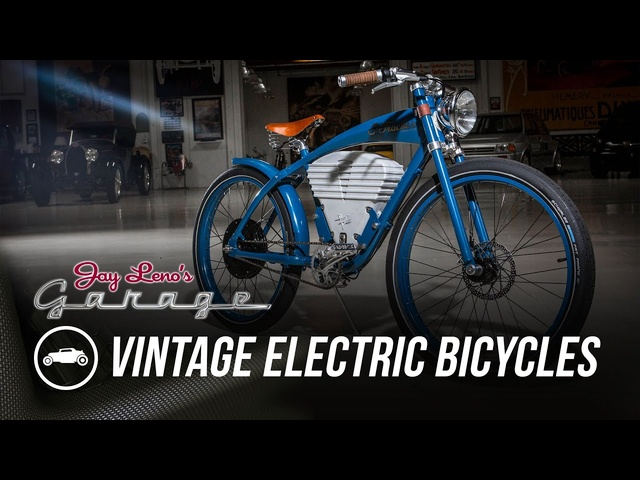 Vintage Electric Bicycles - Jay Leno's Garage