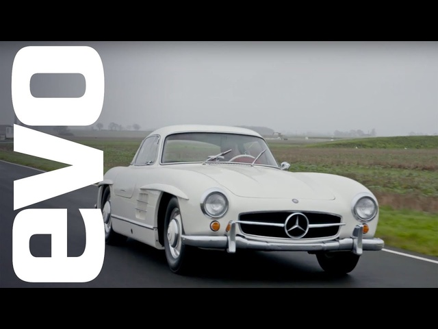 <em>Mercedes</em> 300 SL Gullwing driven - the first ever supercar? | evo ICONS