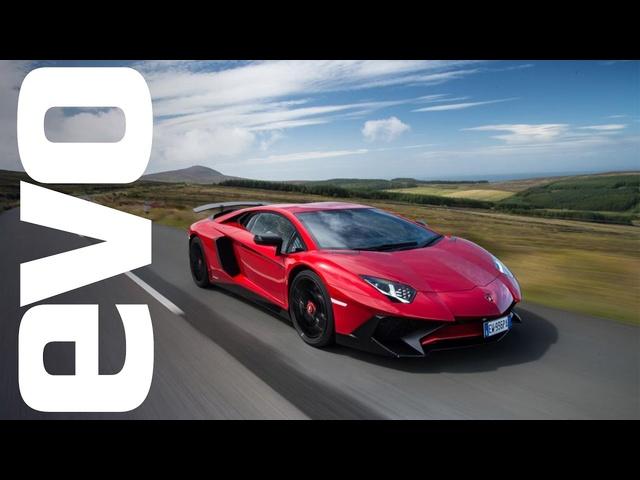 Flat-out in a<em>Lamborghini</em> Aventador SV | evo DIARIES