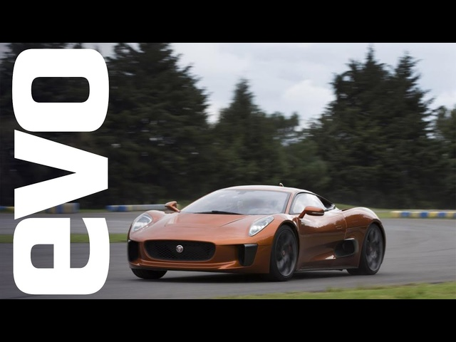 <em>Jaguar</em> C -X75, what's it like to be a Bond villain? | evo DIARIES