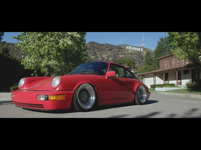 Dapper Porsche 964 in Los Angeles | Mike K