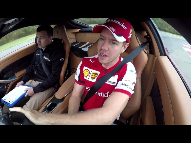 Sebastian Vettel Scares Will Buxton in a <em>Ferrari</em> F12 in Texas - Off the Grid