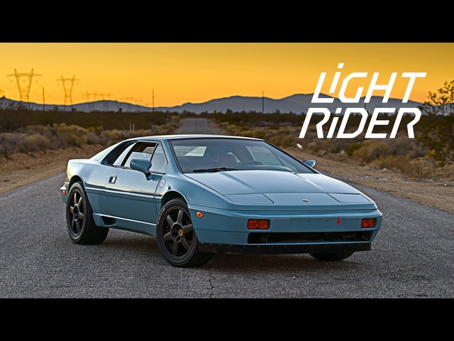 This Lotus Esprit Is A Light Rider Reborn