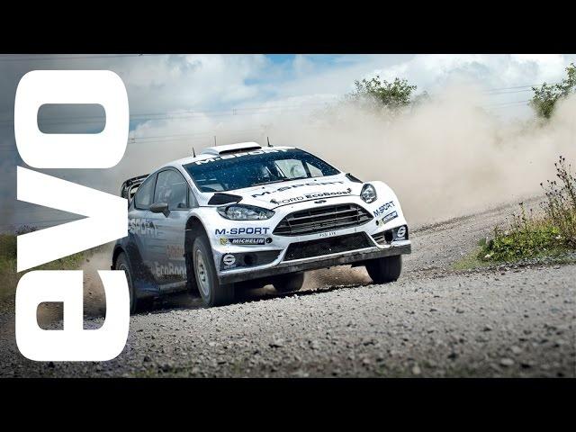 M-Sport <em>Ford</em> Fiesta RS WRC onboard | evo DIARIES