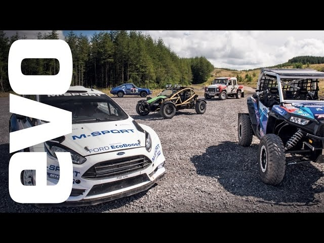 Ariel Nomad v rivals - is this the greatest off-road test ever? | evo REVIEW