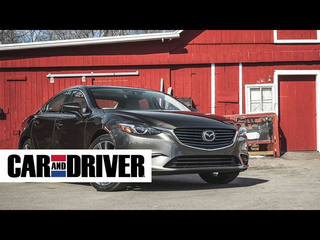 <em>Mazda</em> 6 Review in 60 Seconds | Car And Driver