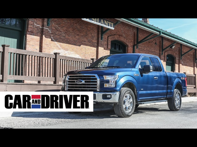 Ford F-150 2.7L Ecoboost 4x4 Review in 60 Seconds | Car And Driver