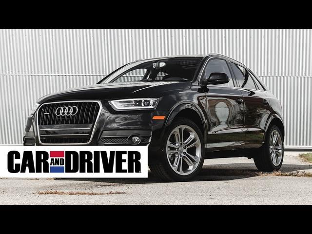 2015 <em>Audi</em> Q3 2.0T Quattro Review in 60 Seconds | Car And Driver