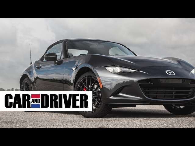 2016 <em>Mazda</em> MX-5 Miata Review in 60 Seconds | Car And Driver