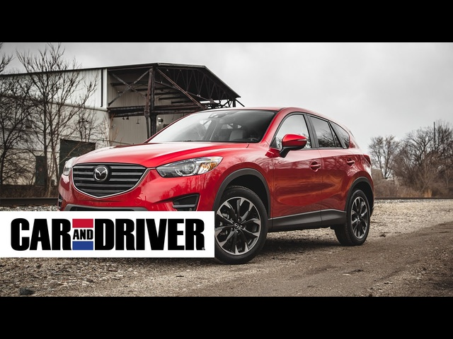 2016 Mazda CX-5 2.5L Review in 60 Seconds | Car And Driver