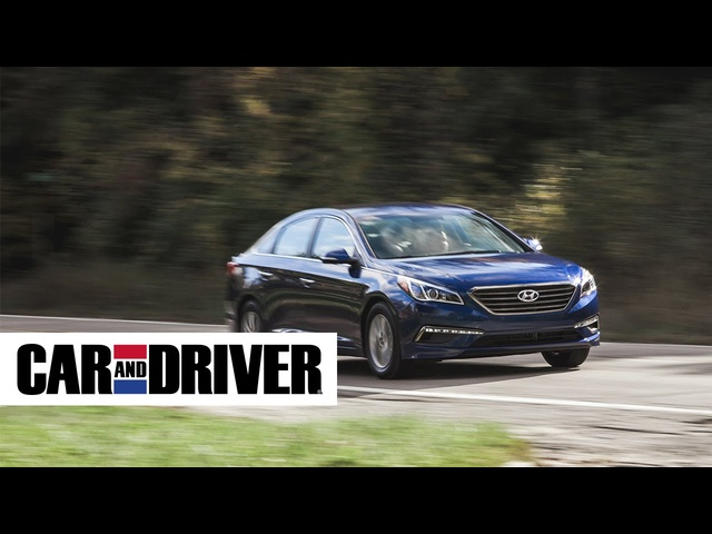 2015 Hyundai Sonata Eco Review in 60 Seconds | Car and Driver