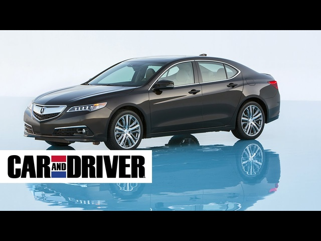 2015 Acura TLX 2.4L Review in 60 Seconds | Car and Driver