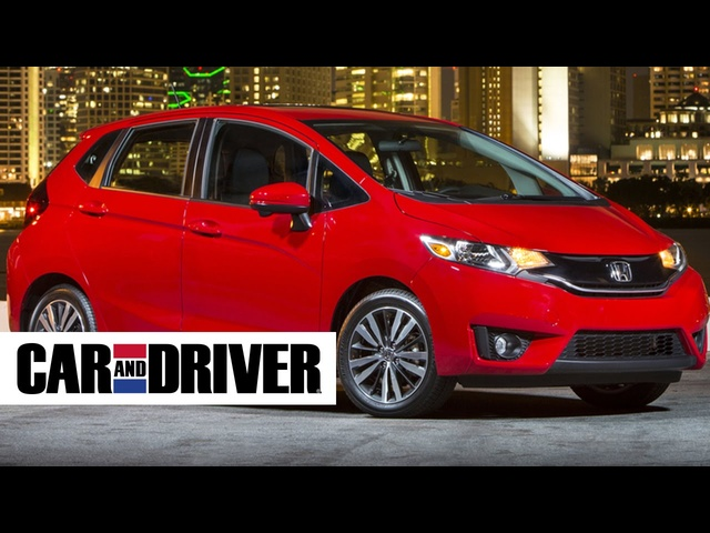 2015 <em>Honda</em> Fit EX Review in 60 Seconds | Car and Driver