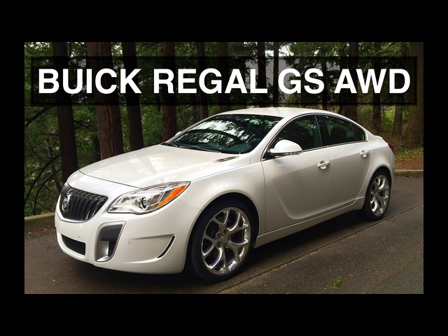 AWD Turbo Buick - 2016 Regal GS Review & Apple CarPlay