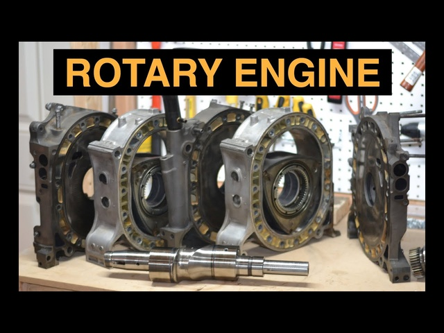 How Rotary Engines Work - Mazda RX-7 Wankel - Detailed Explanation