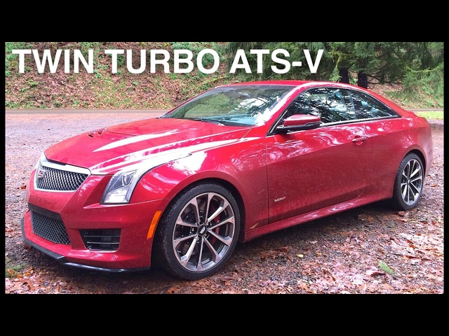 2016 <em>Cadillac</em> ATS-V Review -Baby Aston Martin?