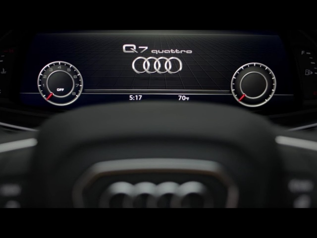 Audi Q7: Infotainment & Audi Connect