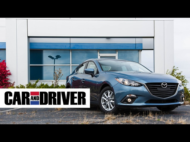 <em>Mazda</em> 3 Review in 60 Seconds | Car and Driver
