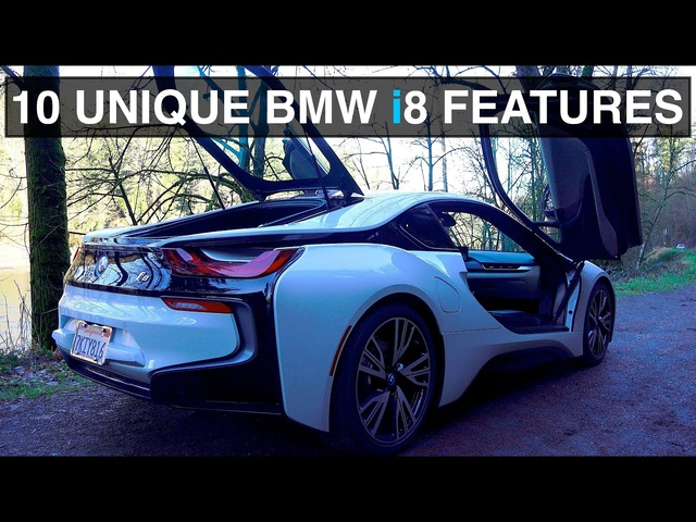 10 Things You Didn't Know About The <em>BMW</em> i8